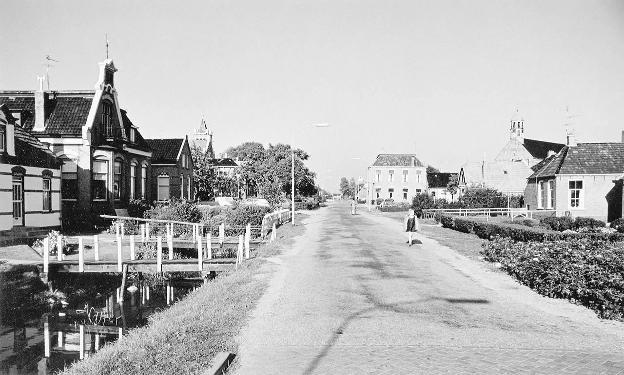Stadsweg Ten Boer, 1970. Fotograaf: M.A. Douma, Groninger Archieven